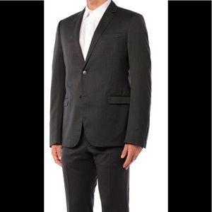 Gucci Mens Dark Grey Wool Suit Size 52R/42R US